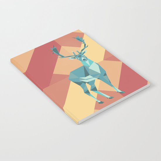 Origami Deer Notebook