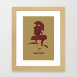 Would That It Were So Simple Framed Art Print