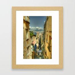 Neapolitan Vesuvius Framed Art Print
