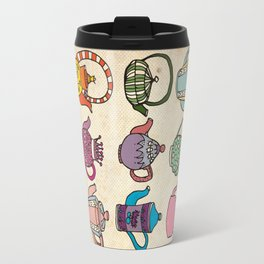 Teapots Travel Mug