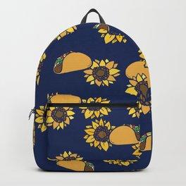 Taco Tuesday Sunflowers Backpack