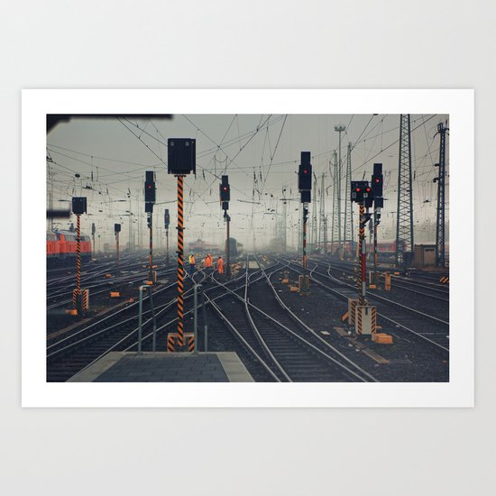 trainyard Art Print