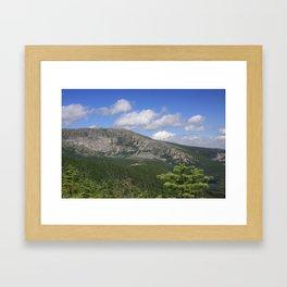 Katahdin - 1 Framed Art Print