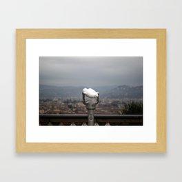 Viewpoint. Florence. Framed Art Print