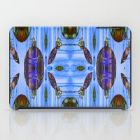 contemporary iPad Cases featuring Contemporary Christmas  by Louisa Catharine Art And Patterns