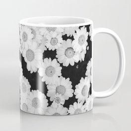 The Daisy Garden (Black and White) Coffee Mug