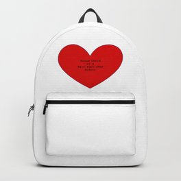 Proud Child of a Self-Published Author Backpack
