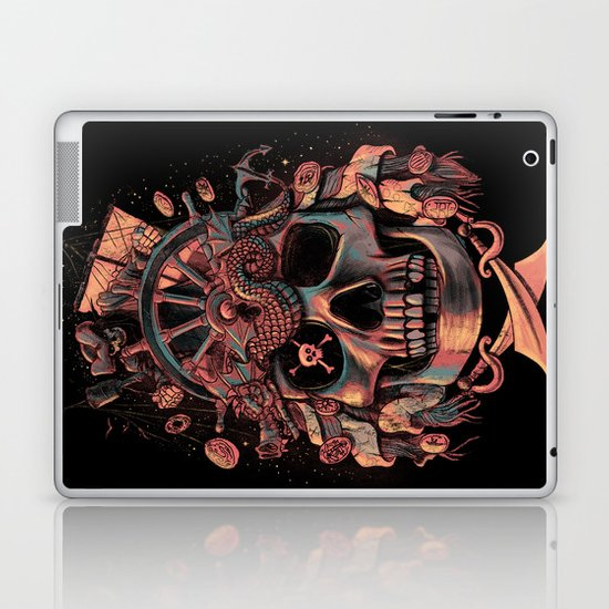 Dead Pirate's Gold Laptop & iPad Skin