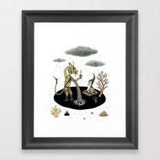 Shifting Tide Pool Framed Art Print