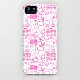 Birth Control Pattern iPhone Case