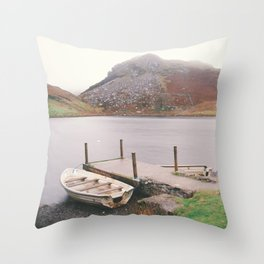Lonely Llyn Throw Pillow