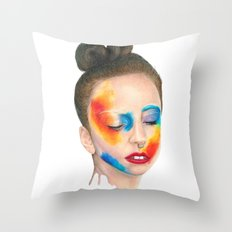 Make 'em Touch Throw Pillow