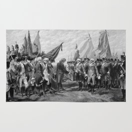 Surrender Of Cornwallis At Yorktown Rug