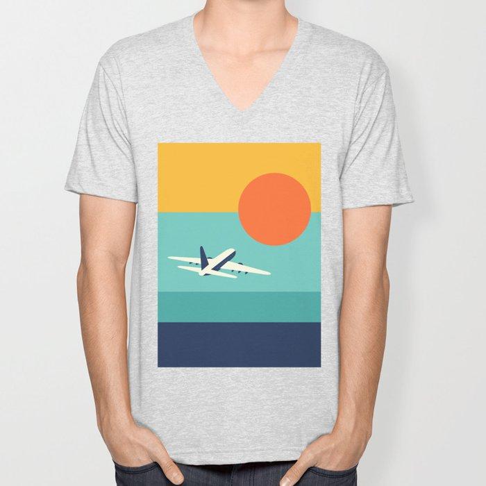 Fly Away Unisex V-Neck