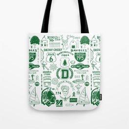Dartmouth Massachusetts Print Tote Bag