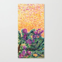 Bougainvillea Tree II Canvas Print