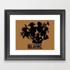 BLANKM GEAR - JAZZBAND Framed Art Print