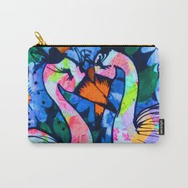 Flamingo Love Carry-All Pouch