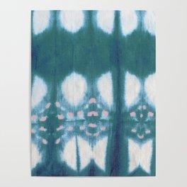 Tie Dye Shibori Poster