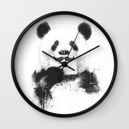 Funny panda Wall Clock