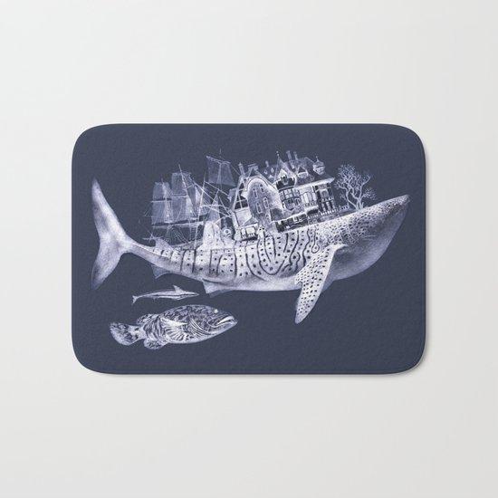 shark night Bath Mat