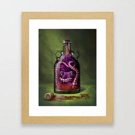 Release the Kraken Framed Art Print