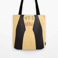 WTF is MDNA Tote Bag