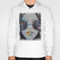 asia Hoodies featuring Asia by Michael Creese