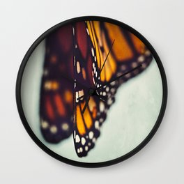 Monarch Study #5 Wall Clock