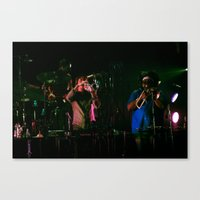bon iver Canvas Prints featuring Bon Iver by earworm