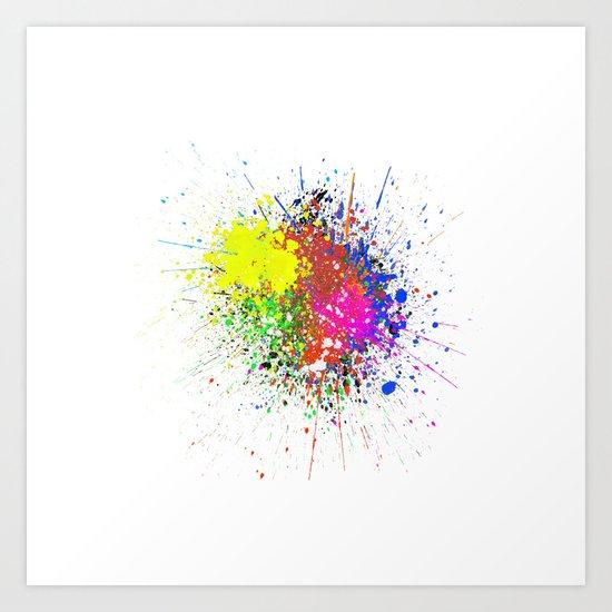 Stains Art Print