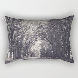 Tunnel of Trees - Kauai, Hawaii Rectangular Pillow