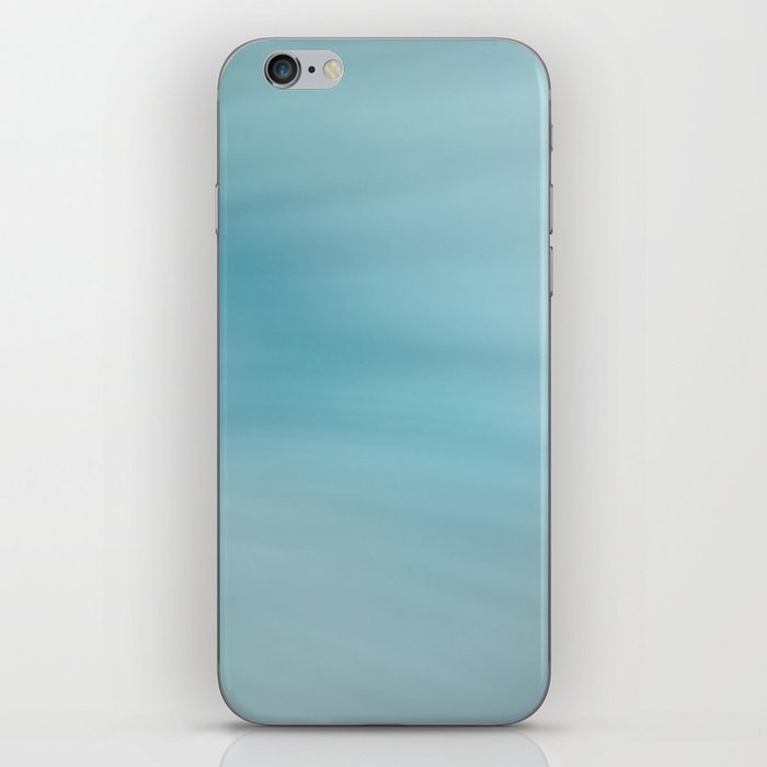 Blue Burst iPhone Skin