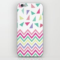confetti iPhone & iPod Skins featuring Confetti  by Bree Madden