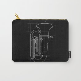 Geometric Tuba Carry-All Pouch