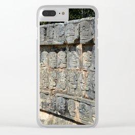 Tzompantli Clear iPhone Case