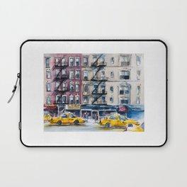 New York, wtercolor sketch Laptop Sleeve
