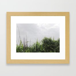 Nostalgia-Home Grass Framed Art Print