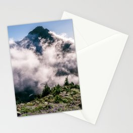Sperry Peak View North Cascades National Park Washington Stationery Cards