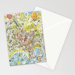 menton cote dazur carte  bande vintage Poster Stationery Cards