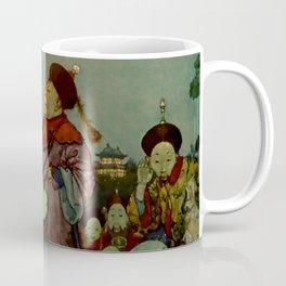 """In Search of a Nightingale"" by Edmund Dulac Coffee Mug"
