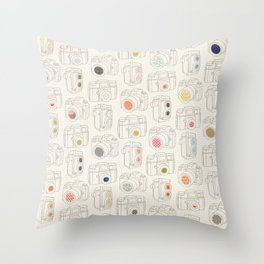 Viewfinder Throw Pillow
