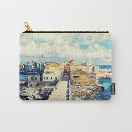 Trapani art 18 Sicily Carry-All Pouch