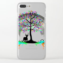 Colorless Raimbow Clear iPhone Case