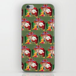 Chistmas sheeps iPhone Skin