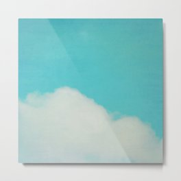 Reclining Cloud Metal Print