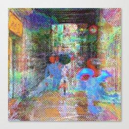 For when the segmentation resounds, abundantly. 12 Canvas Print