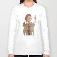 rocket Long Sleeve T-shirts featuring Rocket by BNK Design