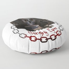 Hungry Eyes Floor Pillow