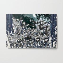 Existence Metal Print